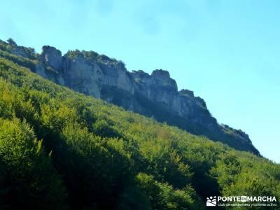 Hayedos Rioja Alavesa- Sierra Cantabria- Toloño;viajes programados por españa embalse madrid agenc
